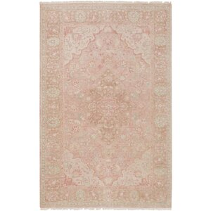 Palermo Hand-Knotted Beige Area Rug