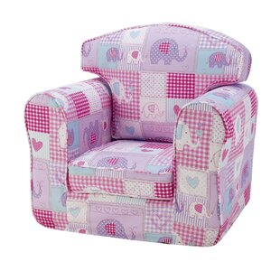 Patchwork Elephants Loose Cover Chair by Churchfield Sofa Bed