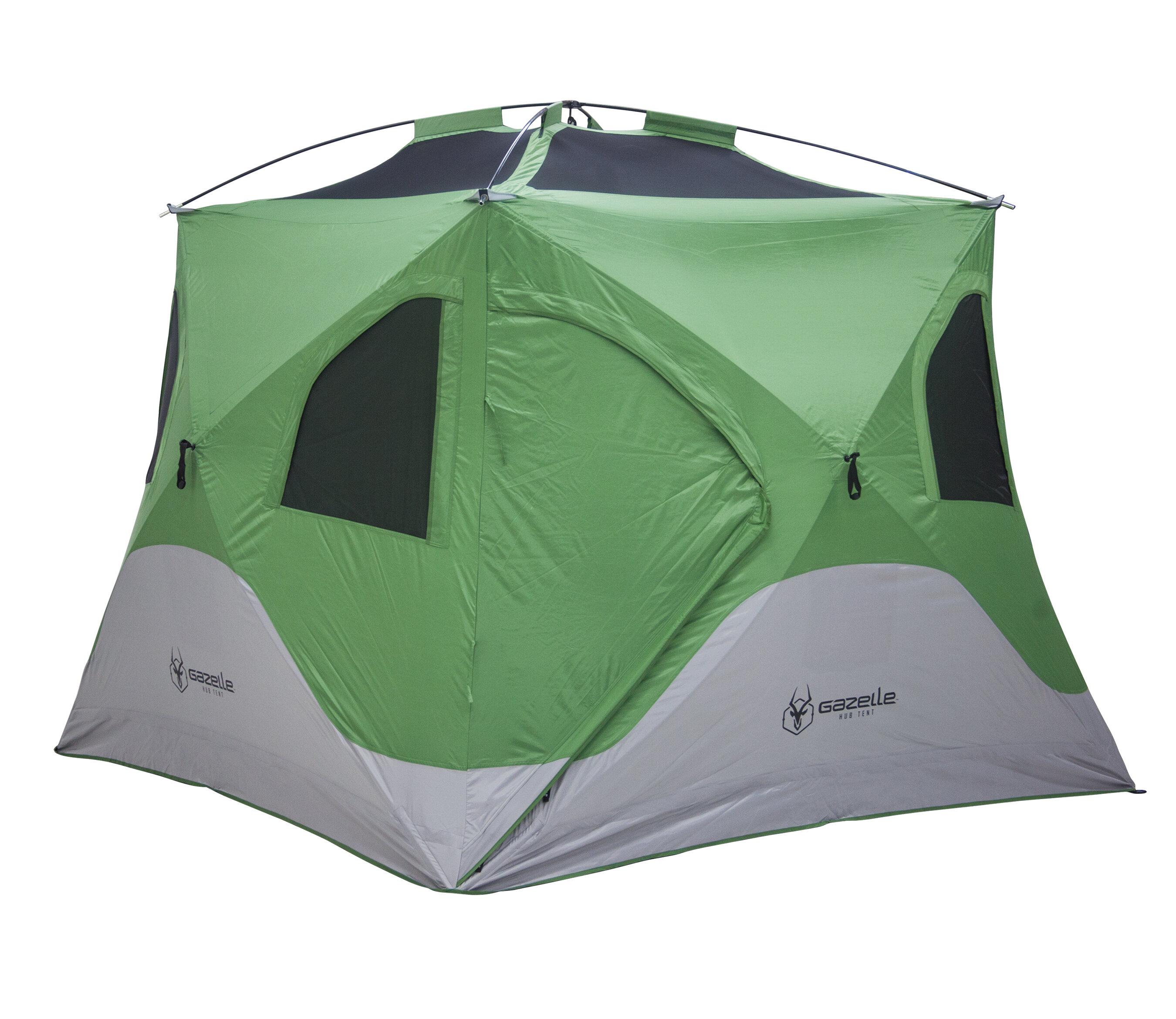 sc 1 st  Wayfair & Gazelle Pop Up Portable Camping Hub 3 Person Tent u0026 Reviews | Wayfair