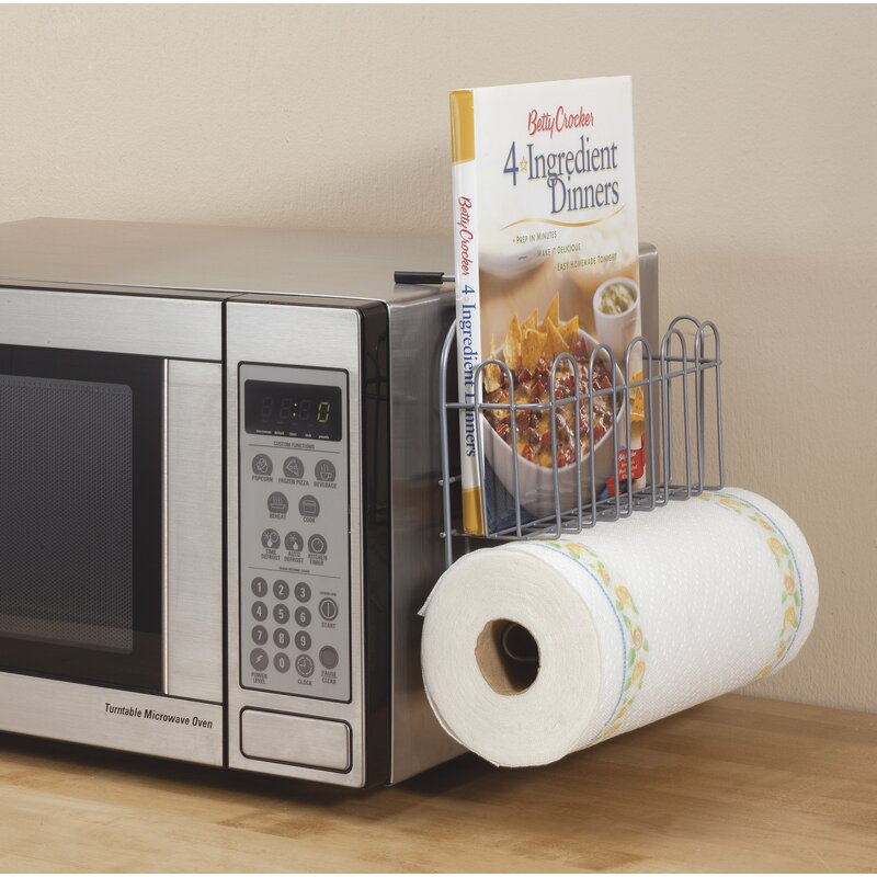 Over The Microwave Storage Rack