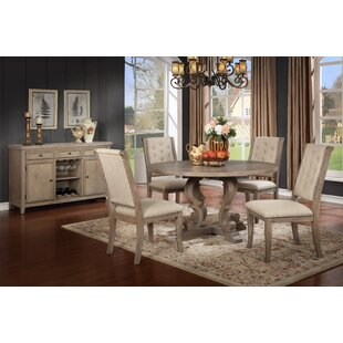 Eliza 5 Piece Solid Wood Dining Set