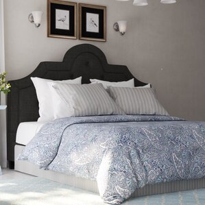 Carrollton Upholstered Platform Bed by Three Posts