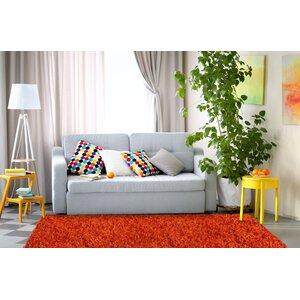 Baumann Hand-Loomed Orange Area Rug