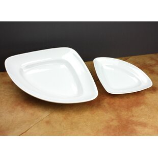 Chesterland 8\  Small Triangle Plate (Set of 3)  sc 1 st  Wayfair & Set Of Small Plates | Wayfair
