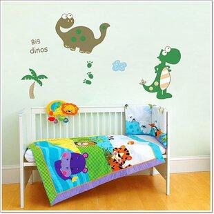 Painting Kids Wall Art Rh Children Bedroom Graffiti Mural Hand Painted Dinosaur