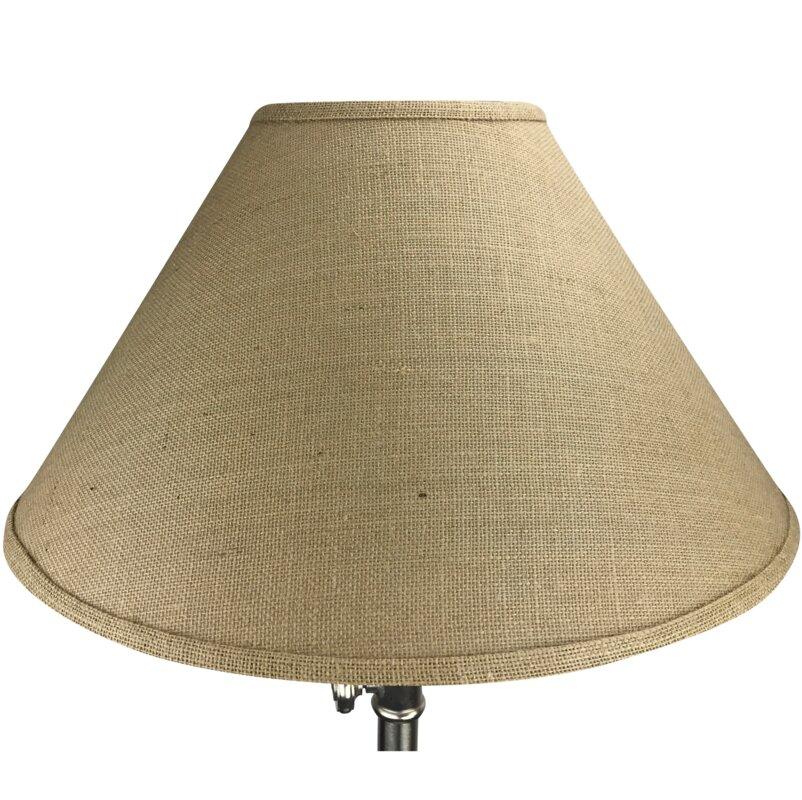 fenchel shades 20 burlap empire lamp shade reviews. Black Bedroom Furniture Sets. Home Design Ideas