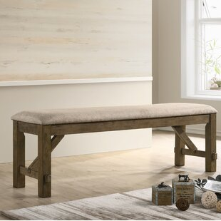 brown kitchen dining benches you ll love wayfair ca