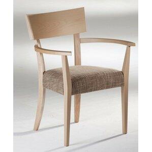 Kraig Arm Chair in Ramie by Corrigan Studio