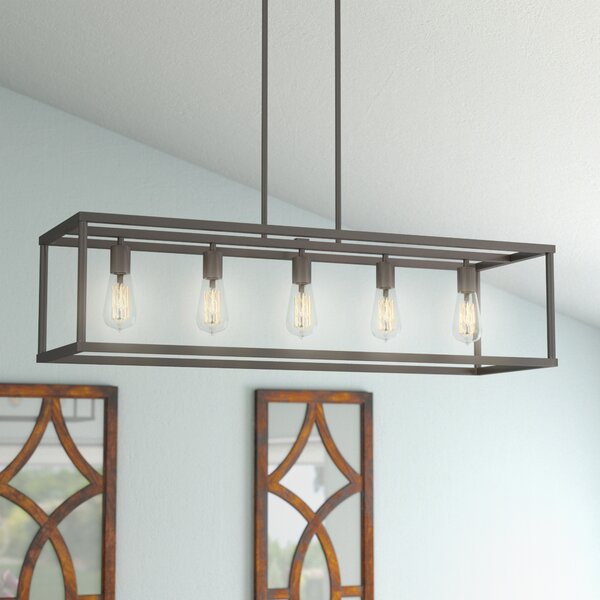 Kitchen Island Pendant Lighting: Laurel Foundry Modern Farmhouse Cassie 5-Light Kitchen