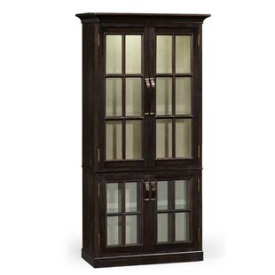 Plank Tall Lighted Curio Cabinet