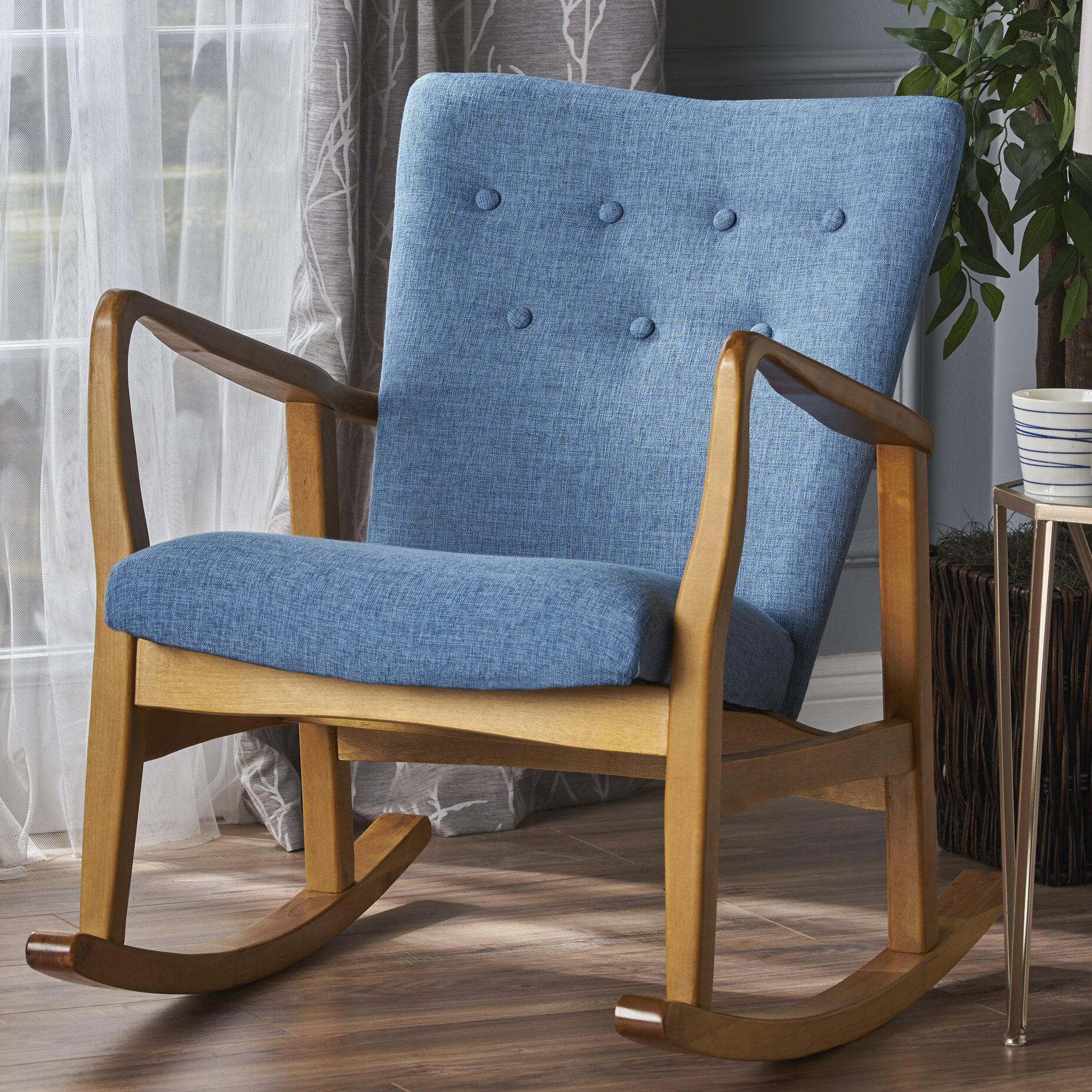 Superieur Brayden Studio Saulter Fabric Rocking Chair   Wayfair