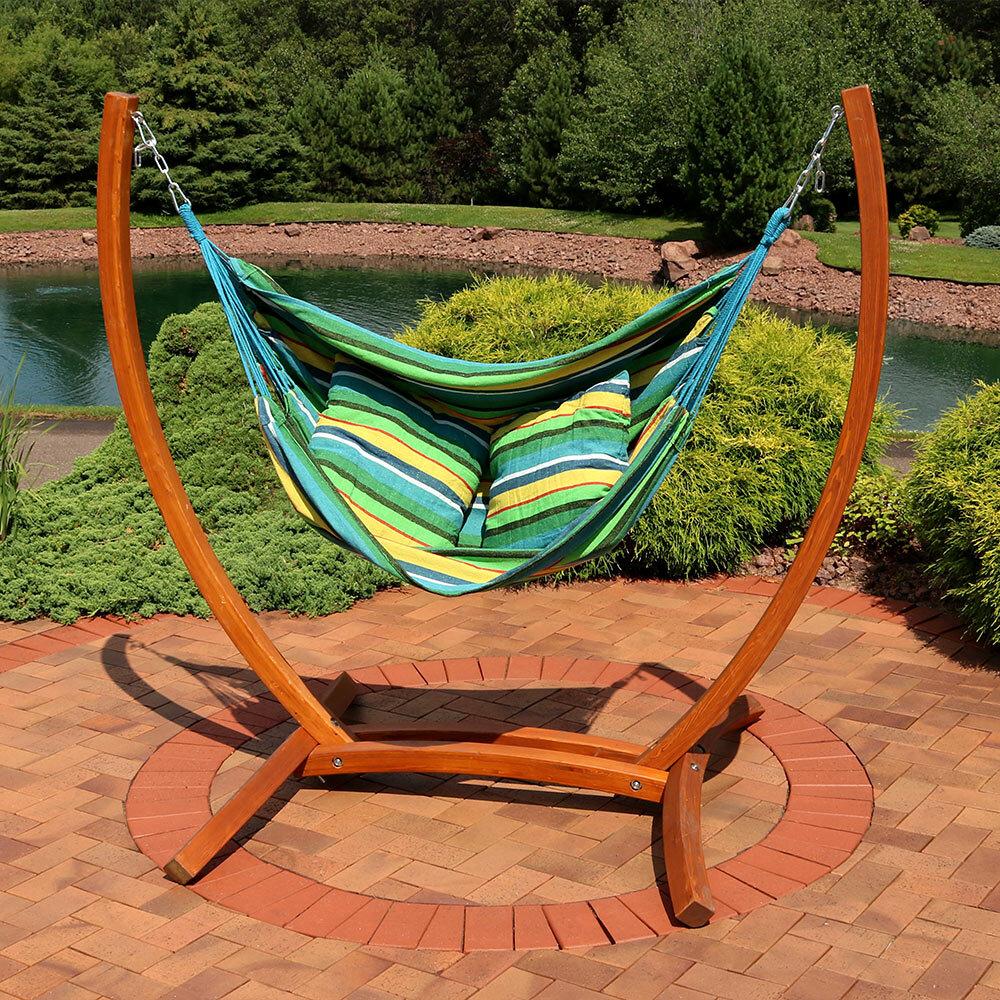 Superieur Freeport Park Barrett Hanging Hammock Chair Porch Swing With Stand | Wayfair