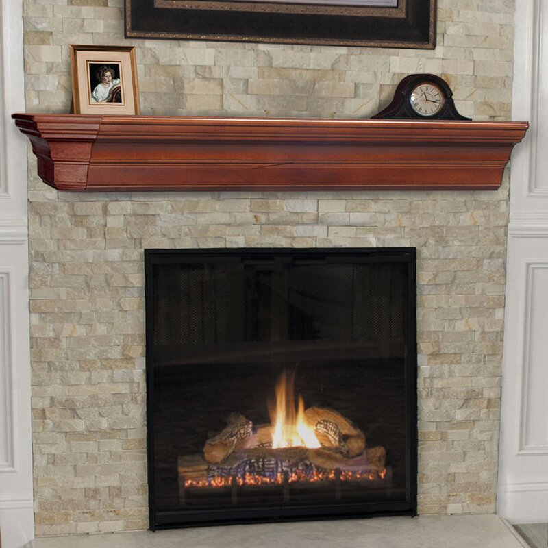 Pearl Mantels Lindon Fireplace Mantel Shelf & Reviews | Wayfair