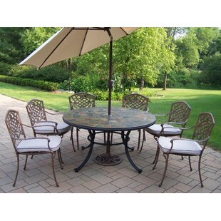 Patio Table Set With Umbrella Wayfair