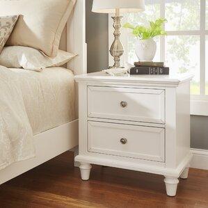 isabella 2 drawer nightstand