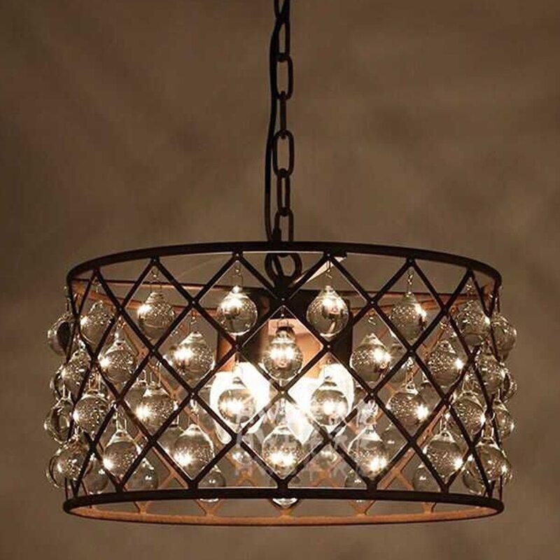 Warehouse of tiffany edison hattie 3 light crystal chandelier edison hattie 3 light crystal chandelier aloadofball Images