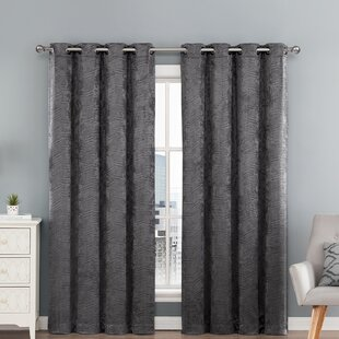 Beige And Grey Curtains
