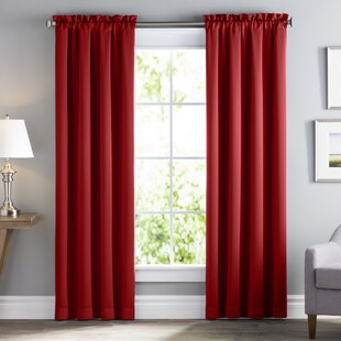 Red Curtains & Drapes You\'ll Love | Wayfair