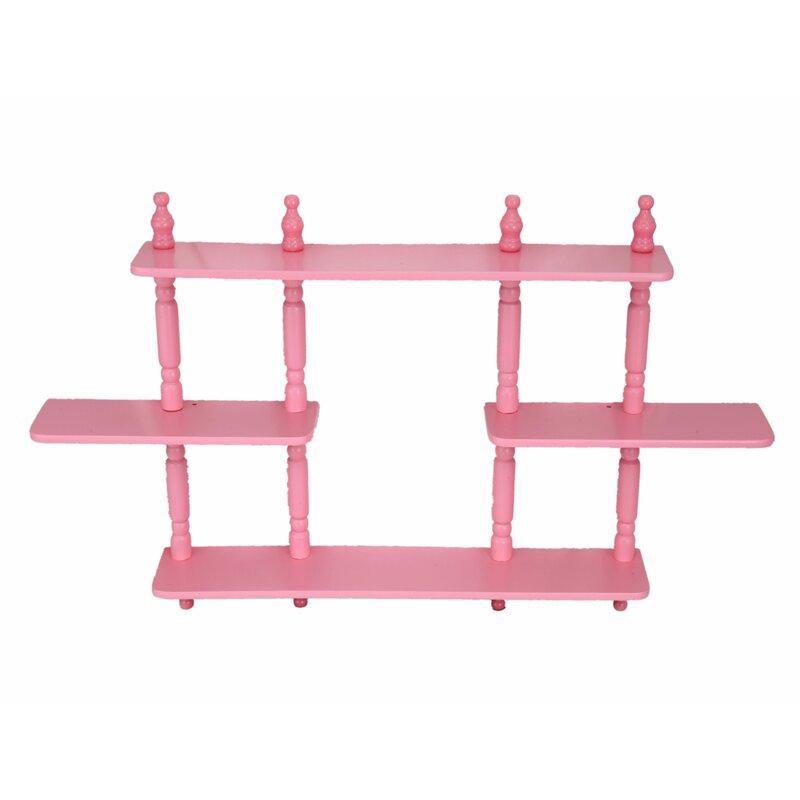 mega home 3 tier wall shelves reviews wayfair rh wayfair com 2 tier wall shelves 3 tier wall shelf unit