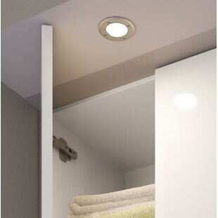 Puck lights cabinet lighting wayfair orca led under cabinet puck light mozeypictures Gallery
