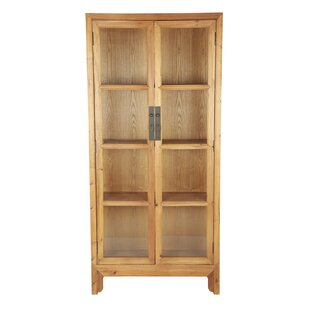 Solid Pine Curio Cabinet ...  sc 1 th 225 & Solid Pine Curio Cabinet By WerkStadt   Check Price