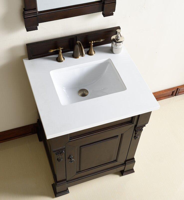 "Vanity Base Bathroom james martin furniture brookfield 26"" single bathroom vanity base"