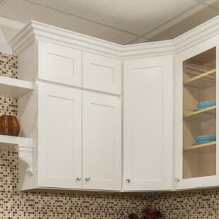 Shaker 39  x 34.5  Kitchen Corner Cabinet & Tall Kitchen Corner Cabinet | Wayfair