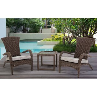 Outdoor dining sets with umbrella Covered Patio Craner Wicker Piece Bistro Set With Cushions Walmart Patio Dining Sets Youll Love Wayfair