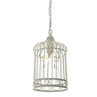 cage lighting. Birdcage 1-Light Foyer Pendant Cage Lighting