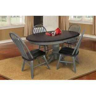 Adalberto Extendable Solid Wood Dining Table