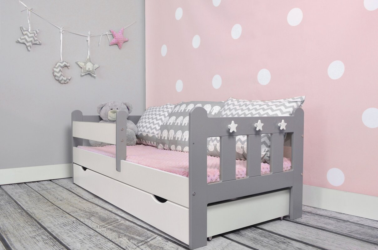 m bel concept kinderbett clata mit matratze und schublade. Black Bedroom Furniture Sets. Home Design Ideas