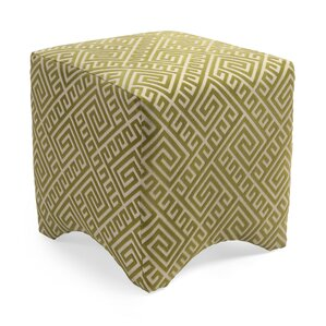 Marisa Graphic Ottoman by Woodland Imports