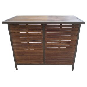 Pulcova Wooden Bar Table