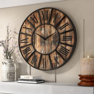 office large size floor clocks wayfair. Oversized Hampson 36\ Office Large Size Floor Clocks Wayfair