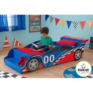 Racecar Toddler Bed by KidKraft