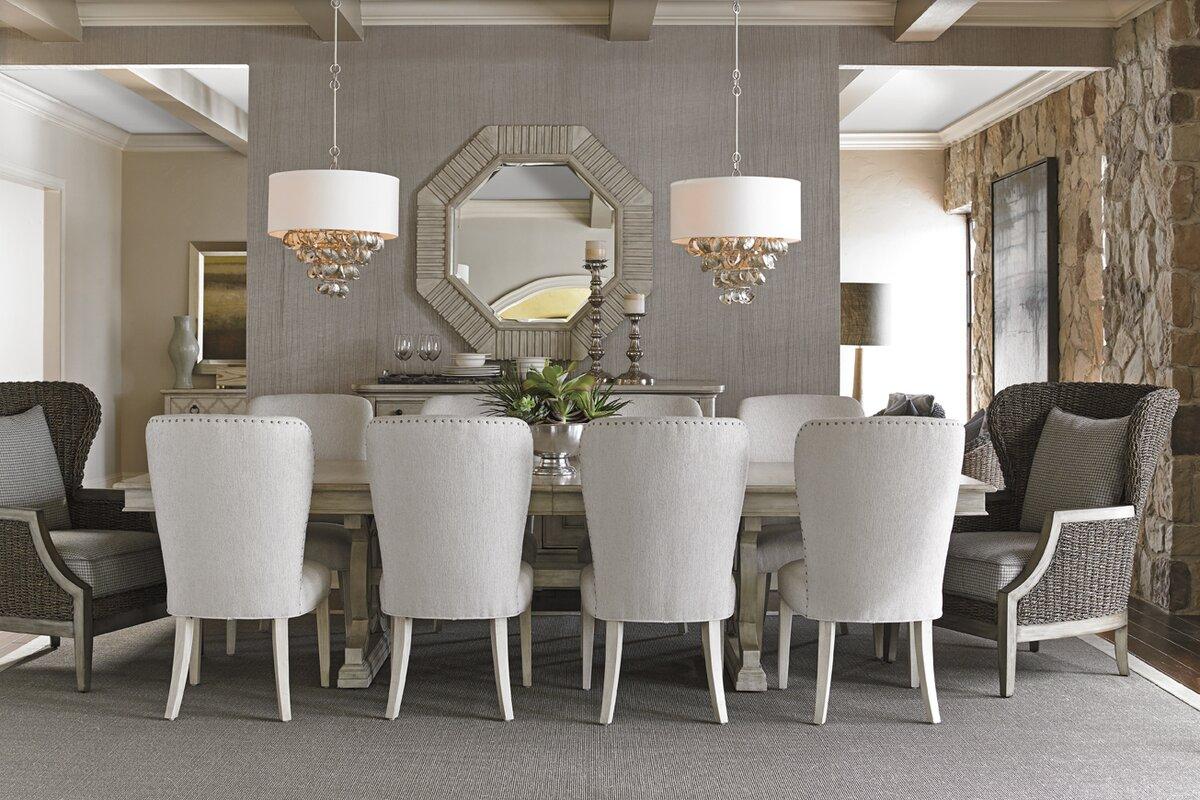 lexington oyster bay  piece dining set  reviews  wayfair -   piece kitchen  dining room sets sku ltn defaultname