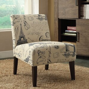 Reece Fabric Slipper Chair..