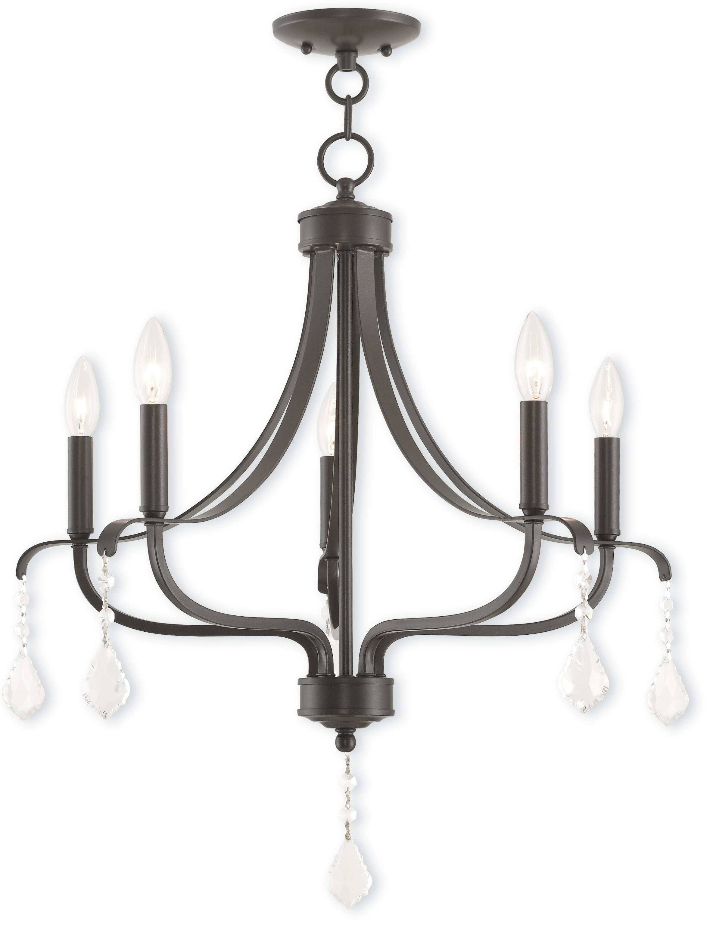 Willa Arlo Interiors Etienne 5 Light Candle Style Chandelier Reviews