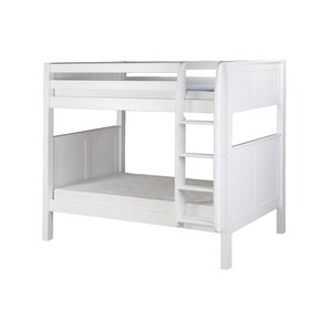 Oakwood Traditional Twin Bunk Bed by Harriet Bee