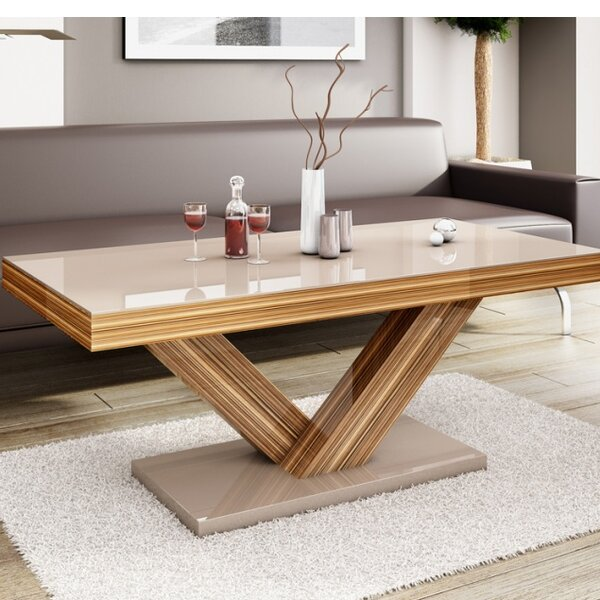 Wade Logan Thurmont Cross Legs Coffee Table