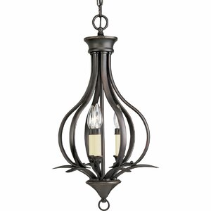 Roquefort 3-Light Foyer Pendant