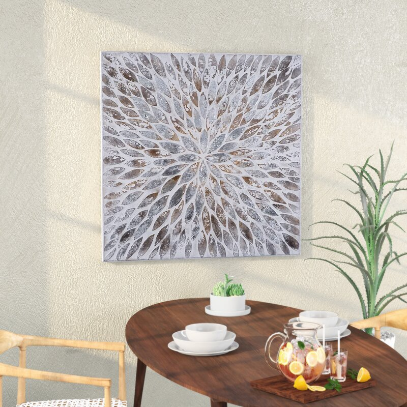 Mistana Contemporary Magnetic Petals Wall Décor & Reviews | Wayfair