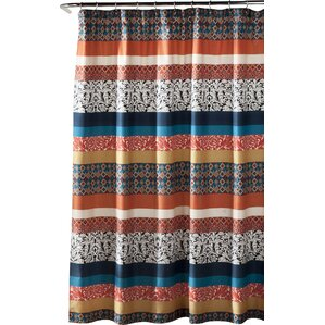 brown and black shower curtain. Todrick Polyester Shower Curtain Black Curtains You ll Love  Wayfair