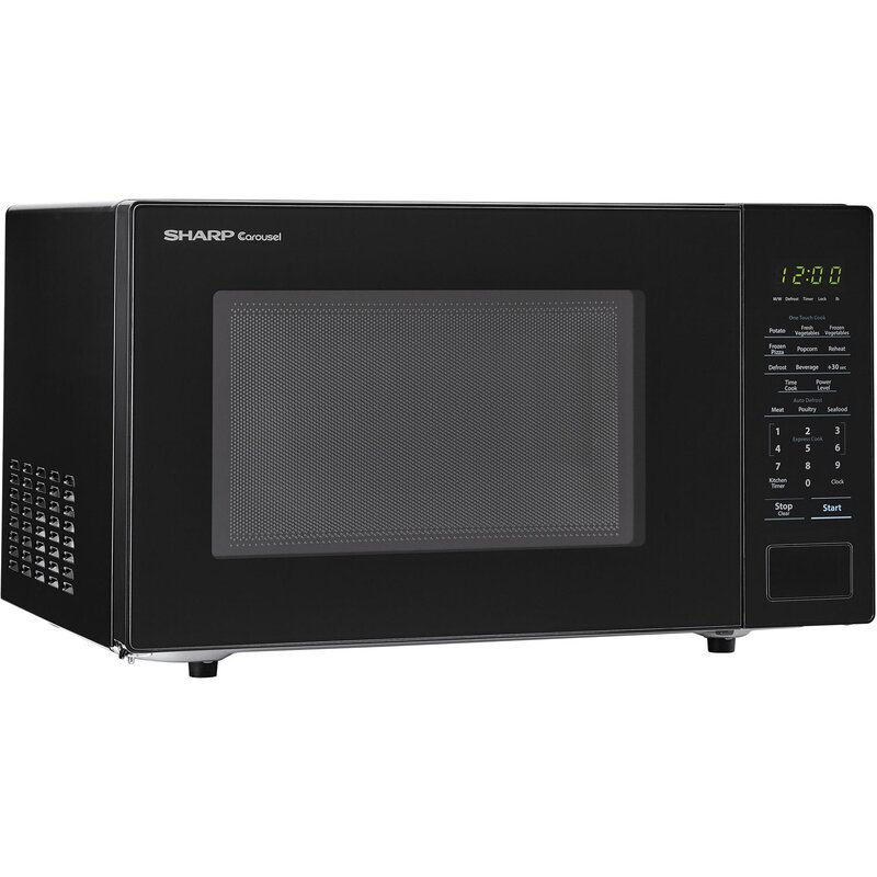 Carousel 20 1 Cu Ft Countertop Microwave