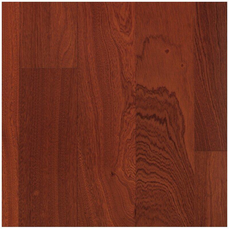 Easoon Usa 3 Engineered Hazel Sapele Hardwood Flooring In Burgundy