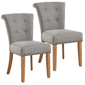 Bentleyville Harbor Button Tufted Upholstered Dining Chair (Set of 2) by Darby Home Co