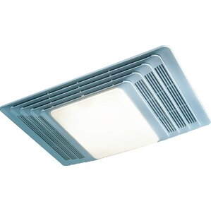 Bathroom Lights With Exhaust Fan bathroom fans - fans | wayfair
