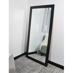 Tall Wall Mirror etched glass wall mirror | wayfair