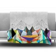 Colorflash 3X by Mareike Boehmer Fleece Throw Blanket
