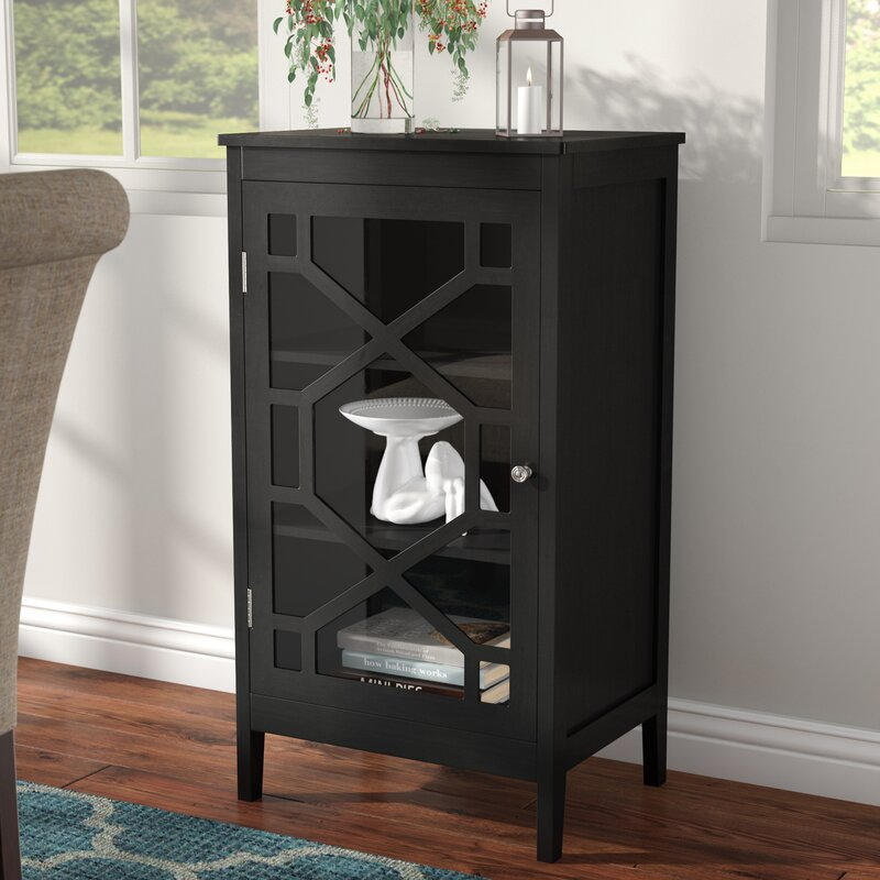 Top Rated Furniture Stores: Charlton Home Zauber Small 1 Door Accent Cabinet & Reviews